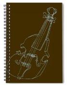 The Cello Spiral Notebook