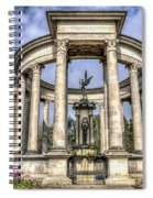 The Cenotaph Cardiff Spiral Notebook