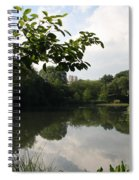 The Central Park Pond Spiral Notebook