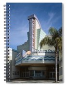 The Century Theatre In Ventura Spiral Notebook