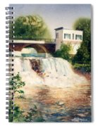 The Chagrin Falls In Summer Spiral Notebook
