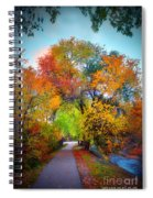 The Changing Tree Spiral Notebook