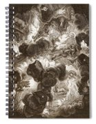The Chaos, Engraved By Bernard Picart Spiral Notebook