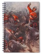 The Charge Of Drury Lowes Cavalry Spiral Notebook