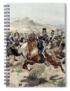 The Charge Of The Light Brigade, 1895 Spiral Notebook