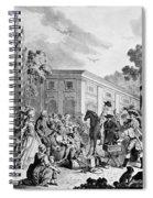 The Charlatan, C1795 Spiral Notebook