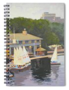 The Charles River Sailing Club Spiral Notebook