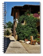 The Charming Patio Spiral Notebook