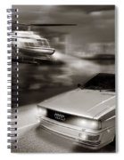 The Chase 3 Spiral Notebook