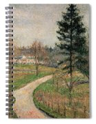 The Chateau At Busagny Spiral Notebook