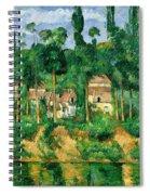 The Chateau De Medan, C.1880 Spiral Notebook