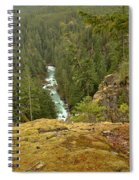 The Cheakamus River Gorge Spiral Notebook
