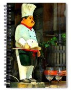 The Chef In The Window Spiral Notebook
