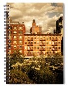 The Chelsea Skyline - High Line Park - New York City Spiral Notebook