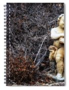 The Cherub And The Lamb Spiral Notebook