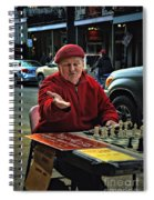The Chess King Jude Acers Of The French Quarter Spiral Notebook