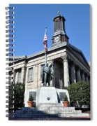 The Chester County Courthouse In West Chester Pa Spiral Notebook