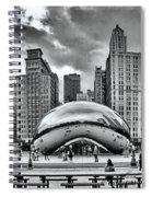 The Chicago Bean II Spiral Notebook