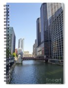 The Chicago River Spiral Notebook