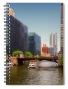 The Chicago River South Branch Spiral Notebook