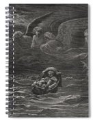 The Child Moses On The Nile Spiral Notebook