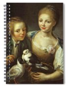 The Children Of The Painter Spiral Notebook
