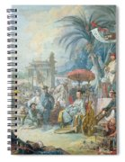The Chinese Fair, C.1742 Oil On Canvas Spiral Notebook