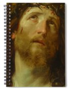 The Chosen One -  The Son Of God Who Died On The Cross For Your Sins Spiral Notebook