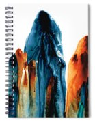 The Chosen Ones - Emotive Abstract Painting Spiral Notebook
