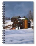 The Christmas Barn Spiral Notebook