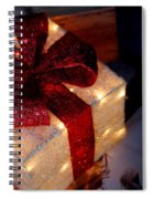 The Christmas Gift Spiral Notebook