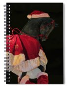 The Christmas Horse Spiral Notebook