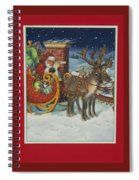 The Christmas List Spiral Notebook