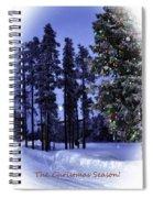 The Christmas Season Spiral Notebook