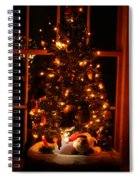 The Christmas Tree Spiral Notebook