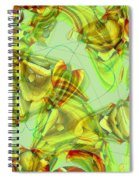 The Chrysalis Shatters Spiral Notebook