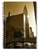 The Chrysler Building In Nyc Spiral Notebook