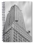 The Chrysler Building Spiral Notebook
