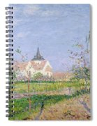 The Church At Vaudreuil Spiral Notebook