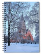 The Church Of Kemi Spiral Notebook