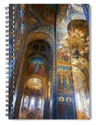 The Church Of Our Savior On Spilled Blood - St. Petersburg - Russia Spiral Notebook