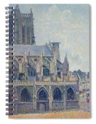 The Church Of St Jacques In Dieppe Spiral Notebook