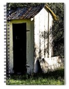 The Church Outhouse Spiral Notebook