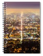 The City Grid Spiral Notebook