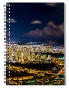 The City Of Aloha Spiral Notebook