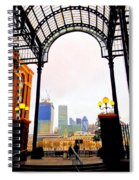 The City Of London Seen From The South Bank Spiral Notebook