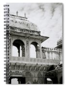 The City Palace Udaipur Spiral Notebook