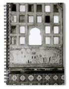 The City Palace Window Spiral Notebook
