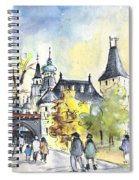 The City Park In Budapest 02 Spiral Notebook