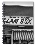 The Clam Box Spiral Notebook